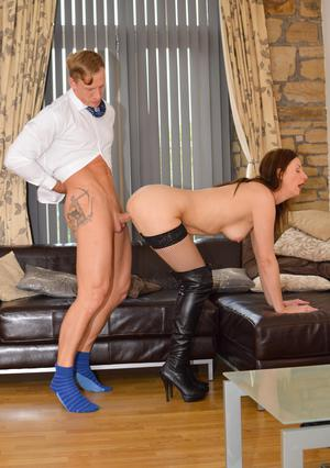 Sexy MILF In Boots