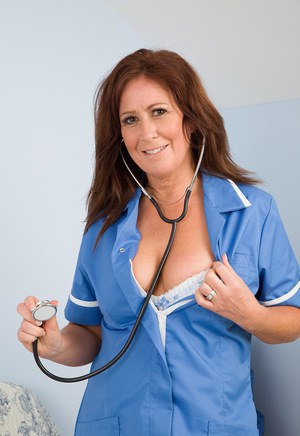 Sexy MILF In Uniform
