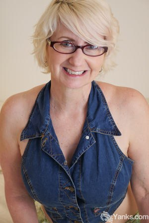 Sexy MILF With Glasses