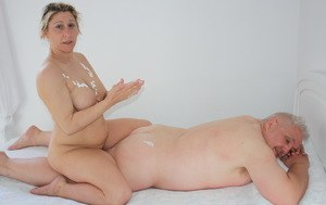 Sexy MILF Massage